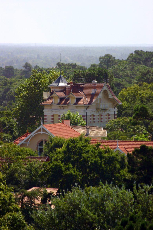 vue de la ville d'Hiver du Belvédère